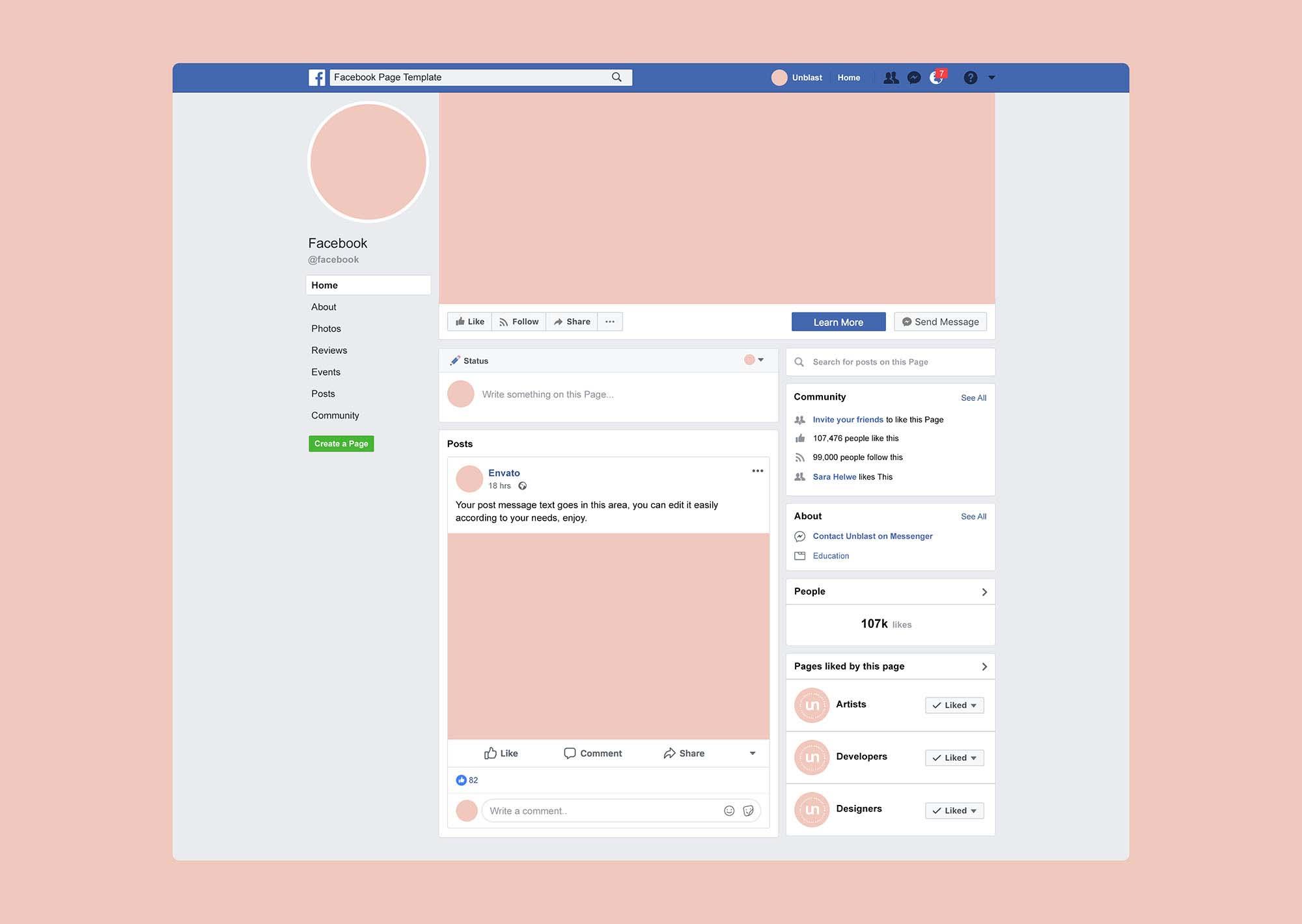 Jose Mier Facebook Page
